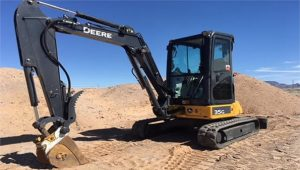 2015 DEERE 35G Small Excavator for Rent in Deming